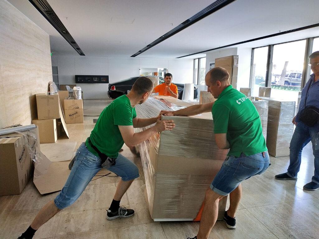 Организация переезда офиса с нашей компанией