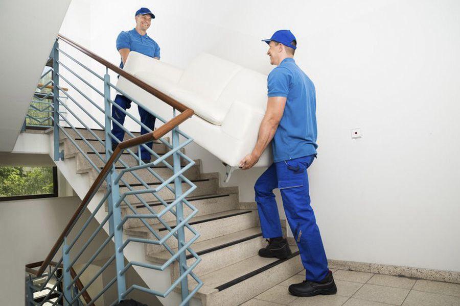 Подъем мебели на этаж грузчиками
