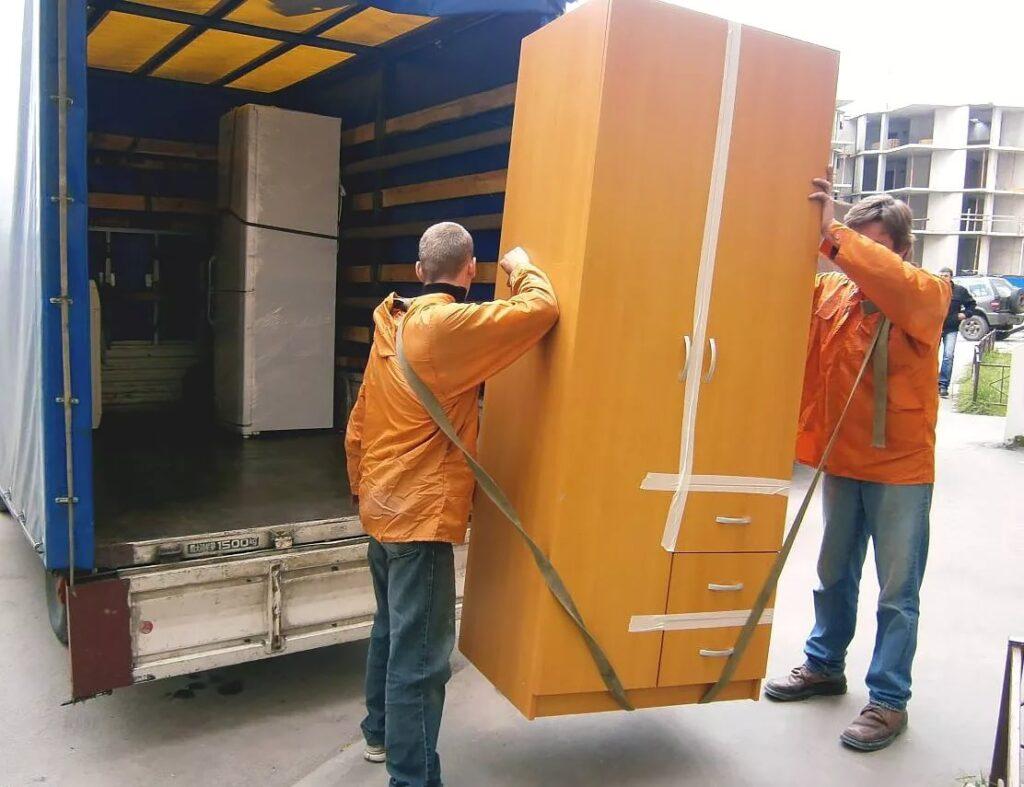 Такелажные работы по переноске бытовых грузов